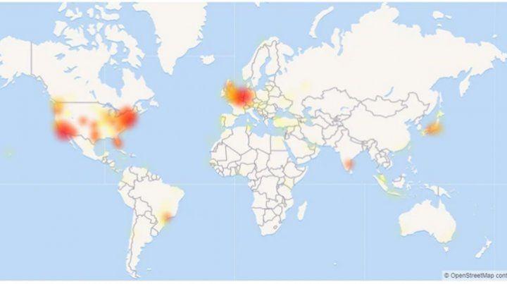 La red social Twitter se cayó por una falla técnica
