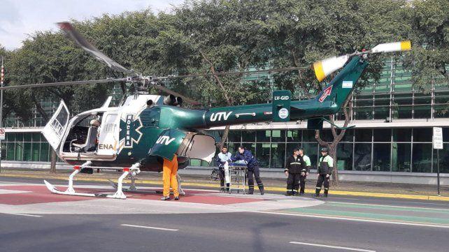 Son cuatro los heridos en un siniestro vial en el cruce de las rutas 14 y AO12 en Piñero