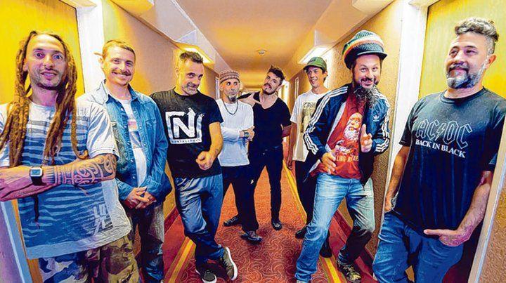 Mundo reggae. La banda porteña lleva más de 20 años en la escena musical y 7 discos editados.