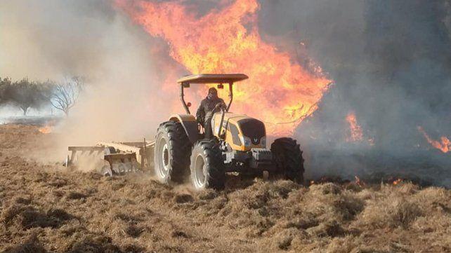 Se incendió una finca del diputado Alfredo Olmedo en La Rioja