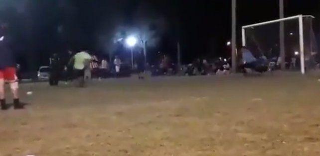 El video del penal que le costó la vida al joven que lo atajó con el pecho