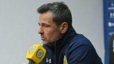 El director técnico de Central, Diego Cocca, analizó el funcionamiento del equipo ante Unión.