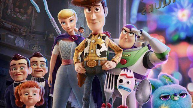 Toy Story 4 ya es la película más taquillera de la historia en la Argentina