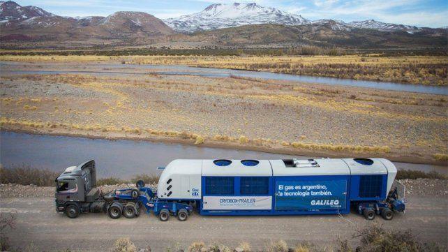 Transporte. Una estación viajando de la Patagonia al puerto de Zárate.