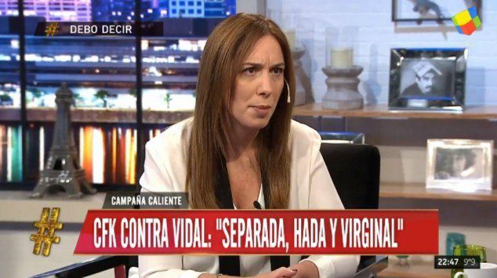 Vidal: No se bancan que una mujer gobierne Buenos Aires