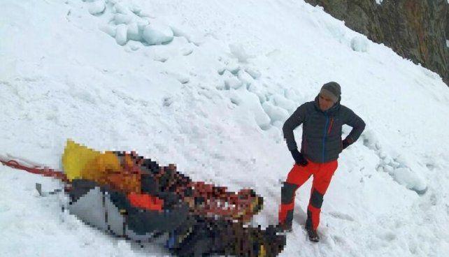 Los cuerpos de los alpinistas argentinos fueron encontrados por personal de la Casa de Guías de Alta Montaña de Huaraz. (Foto: El Comercio de Perú)