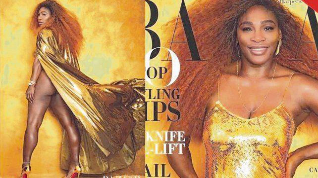 Contraataque. Serena pidió que no le hagan retoque en la portada de agosto de la revista de modas norteamericana Harper´s Bazaar y escribió en primera persona.