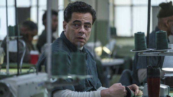 Benicio del Toro en Escape at Dannemora.
