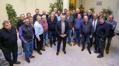 El candidato a presidente del Frente de Todos, Alberto Fernández, se reunió con la cúpula de la GCT.