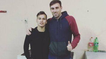 Compinches. Tarnavassa y Leandro Armani, la dupla ofensiva de Unión Casildense.