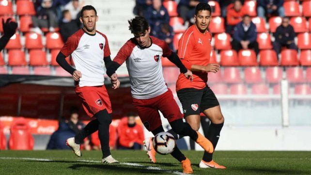 Newells ganó el amistoso con Independiente en Aellaneda