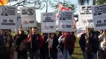 Marchas en Santa Fe en repudio al acuerdo Mercosur-Unión Europea