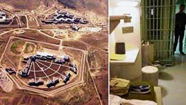 Reclusión. La cárcel ADX Supermax está en Colorado.