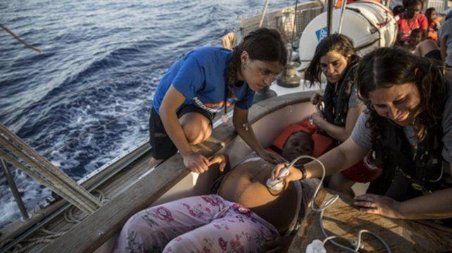 Dramática situación a bordo del velero Alex