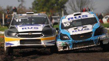 Rallycross. Junto al TC 2000 corren el 28 en lugar de las CAF.