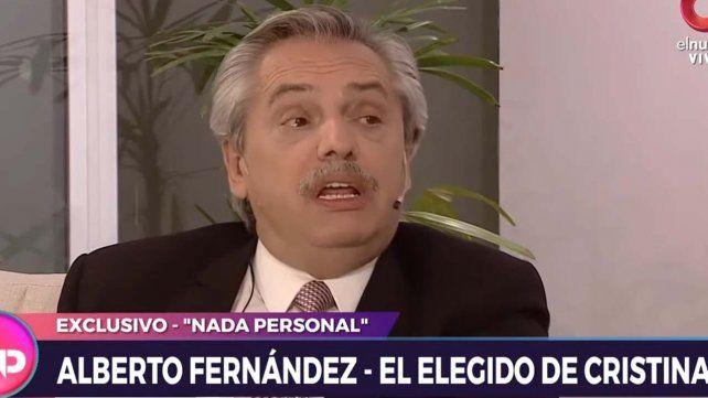 Alberto Fernandez admitió que Cristina dejó tres problemas