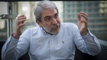 Víctima. Aníbal Fernández acusa a la banda de Marcelo DAlessio.
