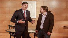 Sanchez e Iglesias se pelean por las cuotas de poder en un Gobierno que aún no existe.