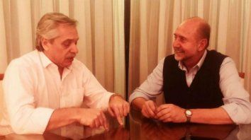Tras ganar las elecciones en Santa Fe, Omar Perotti se reunió con Alberto Fernández para coordinar actividades conjuntas.