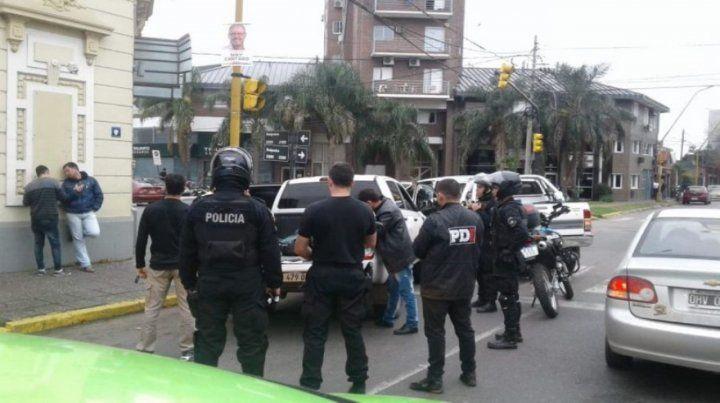 Acorralados. El 10 de junio la policía detuvo a cinco de los miembros
