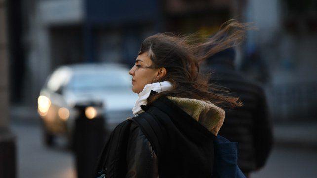 Continúa vigente el alerta en Rosario por vientos intensos con ráfagas