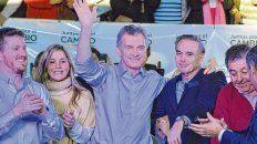 Días atrás. Luego de la Cumbre del Mercosur, Macri y Pichetto encabezaron un acto en la ciudad de Santa Fe.