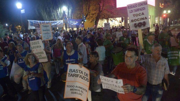 Reacción. Los tarifazos generaron múltiples protestas en el país.