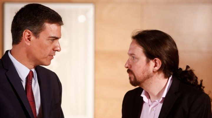 ¿Y ahora? Sánchez e Iglesias se han reunido repetidamente desde las elecciones del 28 de abril.