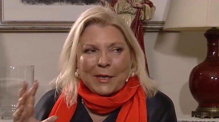 Carrió dijo que el kirchnerismo usa técnicas del fascismo en su relato