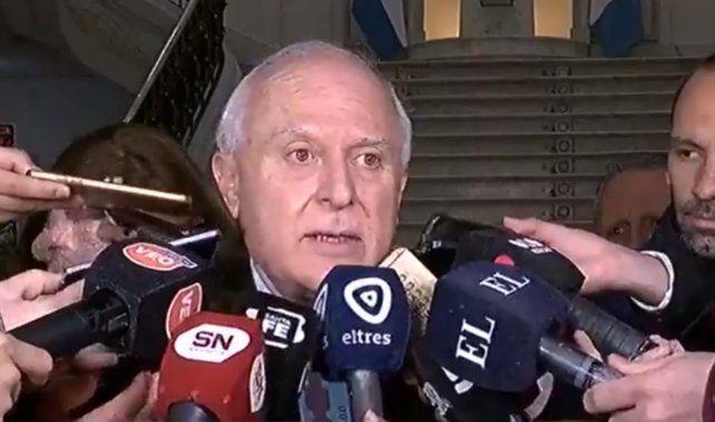 El gobernador Miguel Lifschitz dijo que mantiene una muy buena relación con su sucesor