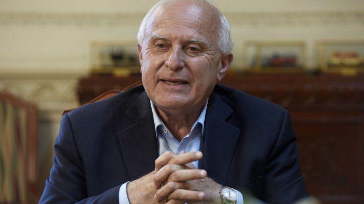Lifschitz volvió a defender su decisión de haber enviado el presupuesto a la Legislatura