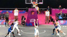 el basquet 3x3 obtuvo la medalla de plata ante estados unidos