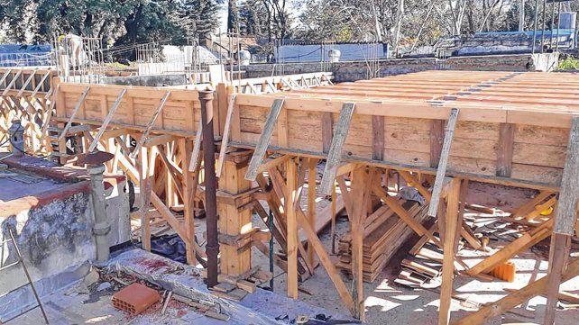 en marcha. La nueva casa alojamiento se está construyendo en Virasoro 870. Esperan que esté lista para el año próximo.