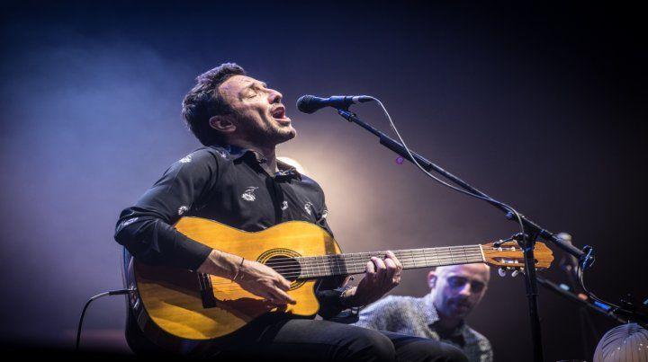 El cantante Emiliano Brancciari.