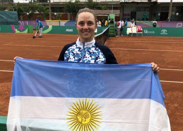 Juegos Panamericanos Lima 2019: Nadia Podoroska se colgó el oro en tenis