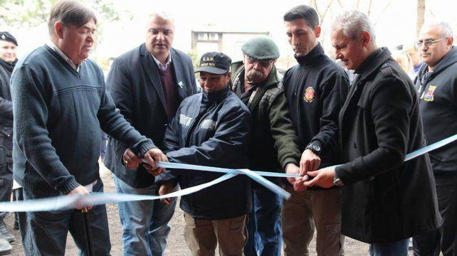 Inauguración. El intendente Esper valoró el trabajo de los dos organismos.