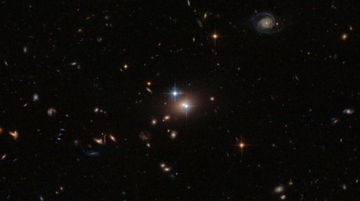 Revelan los verdaderos colores de las bestias galácticas en evolución