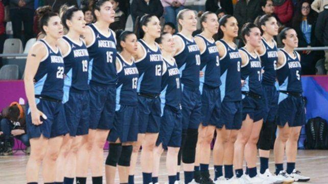 Las Gigantes. Las chicas del básquet tenían la ilusión de lograr una medalla.