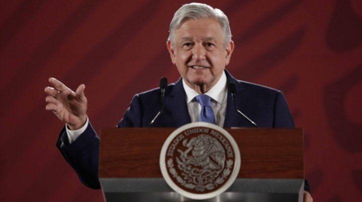 popular. El presidente mexicano en reciente conferencia.