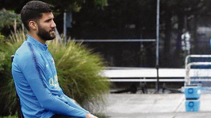 López mejora y ya entrena con el resto
