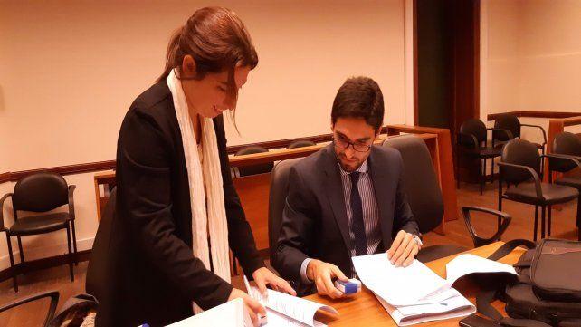 Acusadores. Los fiscales Urquiza y Lazzarini llevaron adelante la investigación sobre la banda.