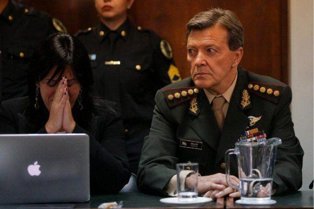 Comienzan a juzgar a Milani por la desaparición del soldado Ledo