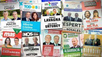 Como no hay competencia interna, las Paso serán una virtual primera vuelta entre los candidatos con más chances de ganar en las elecciones generales del 27 de octubre.
