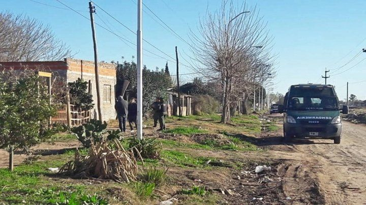Gendarmería arrestó el 2 de agosto a seis personas vinculadas a tres asesinatos.