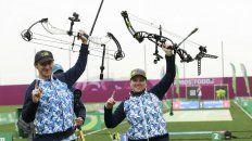 La dupla argentina consiguió una medalla histórica.