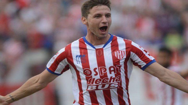 Ex tatengue. Franco Soldano hizo 23 goles en Unión y ahora recala en los xeneizes.