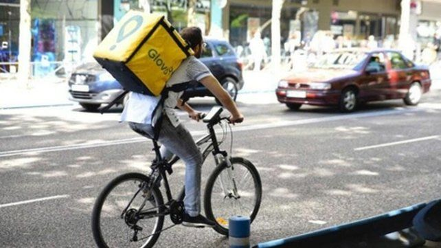 Autorizados. Fueron beneficiados quienes hacen reparto en bicicleta.
