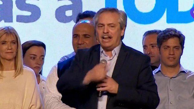 Alberto Fernández: Argentina necesita terminar con este tiempo y construir otra historia