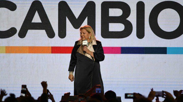 Carrió: En octubre ganará la república democrática por más del 50 por ciento