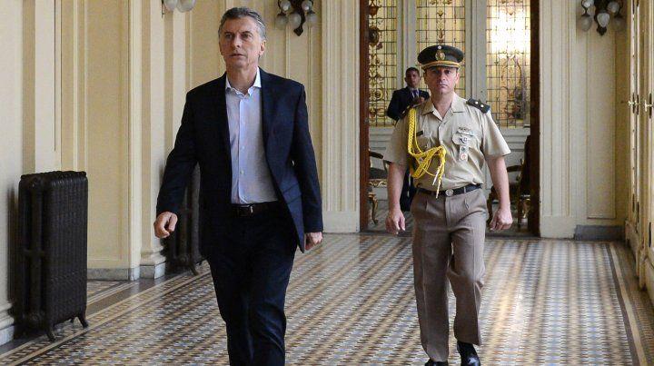Macri postergó la reunión de gabinete en la Casa Rosada